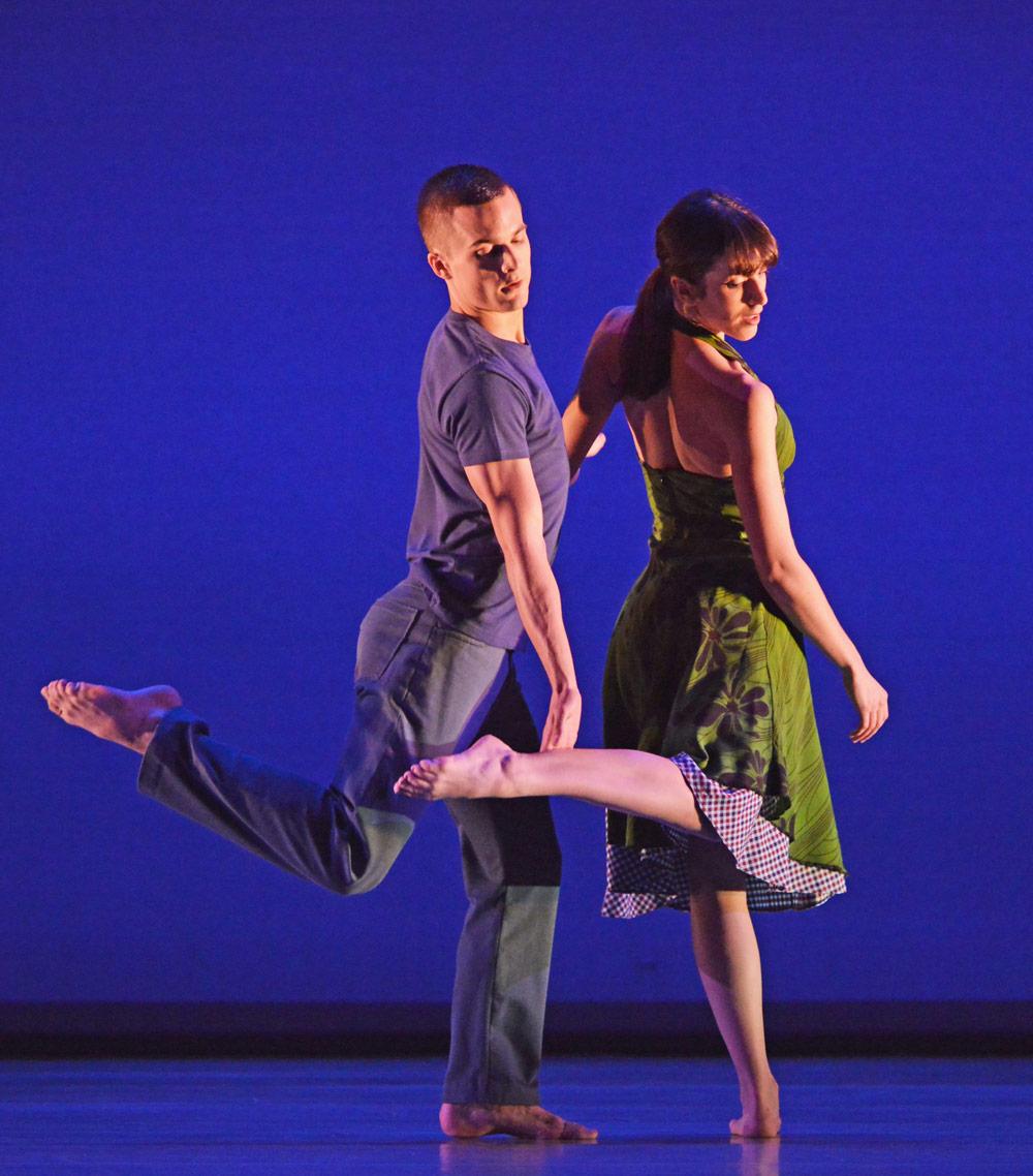 Liam Riddick and Oihana Vesga Bujan in Gypsy Mixture.© Dave Morgan. (Click image for larger version)