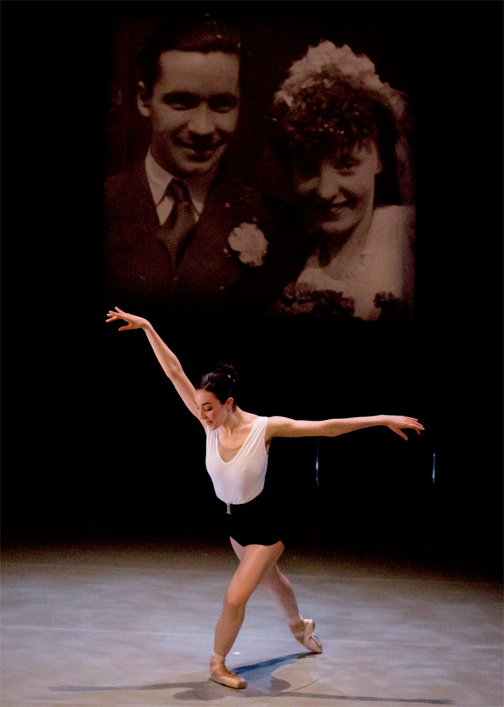 Eleonora Falovo in Matthew Hart's Concerto for Joyce and Dennis.© Fiona Whyte. (Click image for larger version)