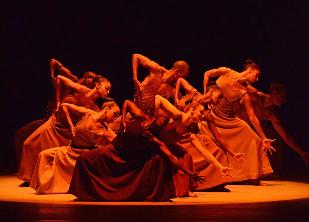 AAADT in Alvin Ailey's <I>Revelations</I>.<br />© James R. Brantley. (Click image for larger version)