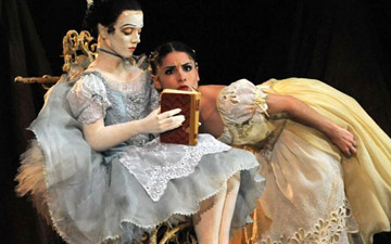 Maureya Lebowitz as Swanilda in Coppélia.© Roy Smiljanic. (Click image for larger version)