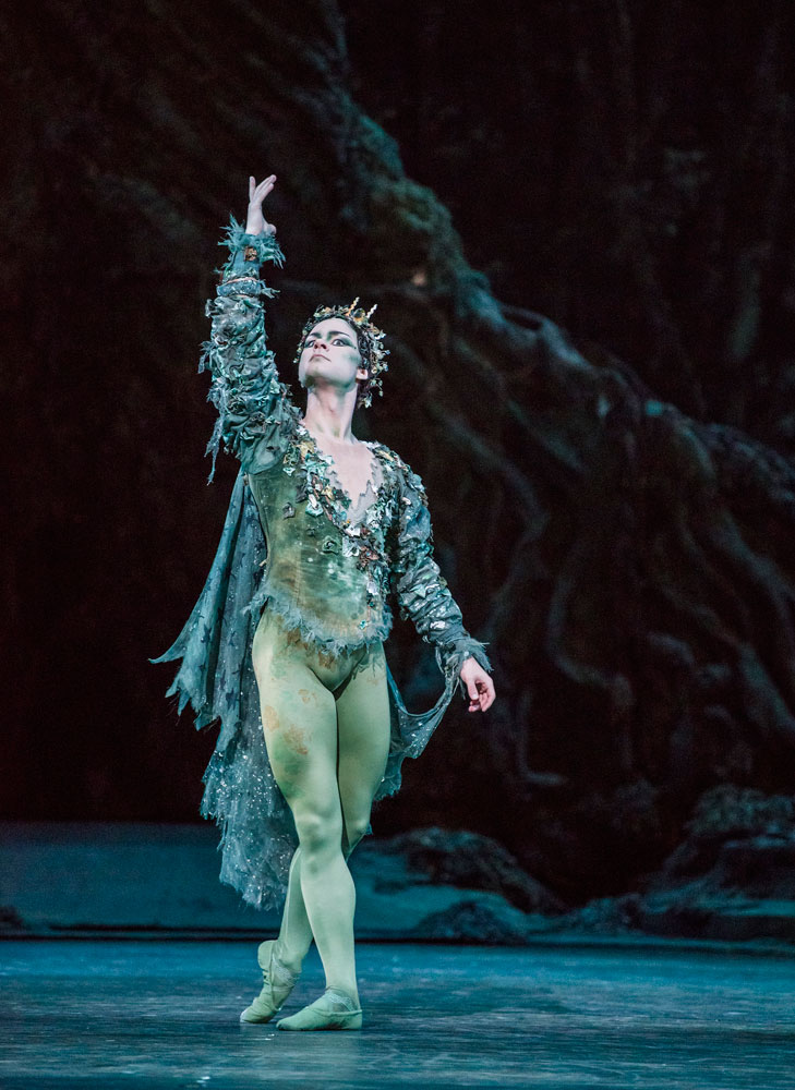 Alexander Campbell in <I>The Dream</I>.<br />© Tristram Kenton, courtesy the Royal Opera House. (Click image for larger version)