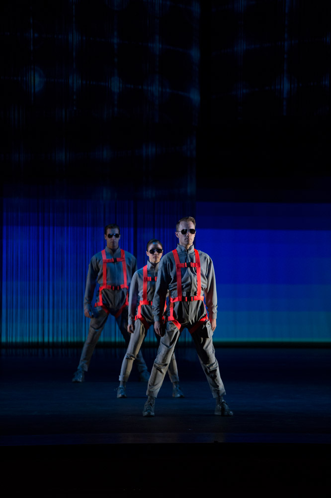 Washington Ballet in Ethan Stiefel's Frontier.© Theo Kossenas Media 4 Artists. (Click image for larger version)