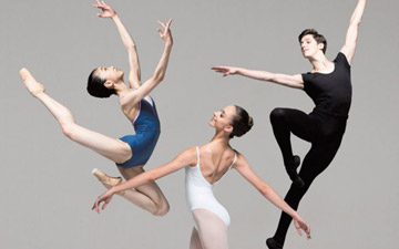 English National Ballet School publicity image for the 2017 Summer Performance.© ENB School. (Click image for larger version)