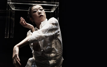 Rihoko Sato in Sleeping Water.© Jean Michel Blasco. (Click image for larger version)