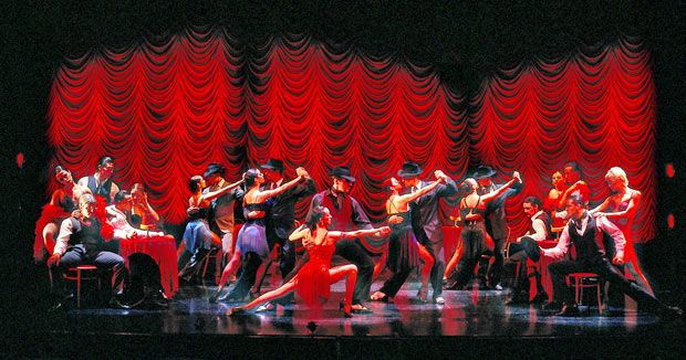 The cast of Tanguera.© Manuel Navarro. (Click image for larger version)