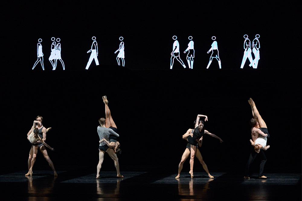 Mariinsky Ballet in Infra.© Valentin Baranovsky. (Click image for larger version)