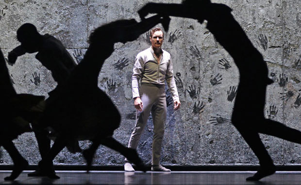 James Streeter in Akram Khan's <I>Giselle</I>.<br />© Dave Morgan. (Click image for larger version)