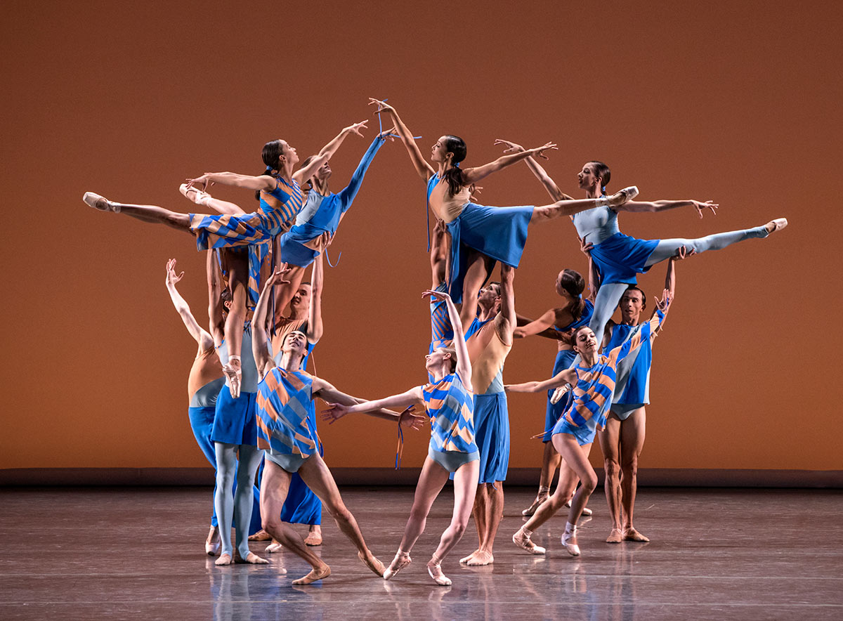 New York City Ballet in Troy Schumacher's The Wind Still Brings.© Paul Kolnik. (Click image for larger version)