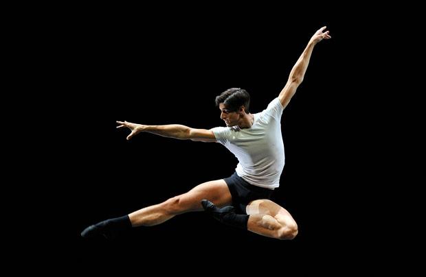 Xander Parish in <I>Ballet 101</I>.<br />© Robbie Jack. (Click image for larger version)
