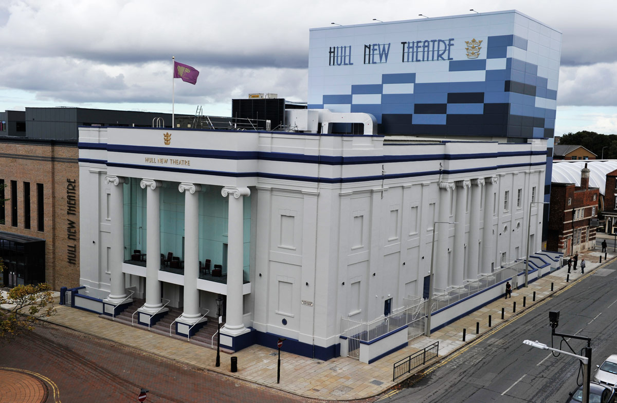 The Hull New Theatre.<br />© Robbie Jack. (Click image for larger version)