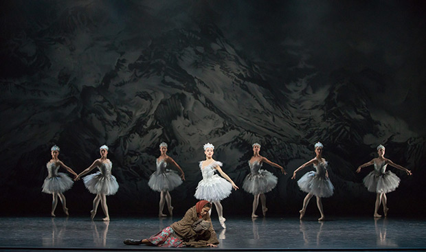 Constance Devernay in Kenneth MacMillan's <I>The Fairy's Kiss</I>.<br />© Andy Ross. (Click image for larger version)