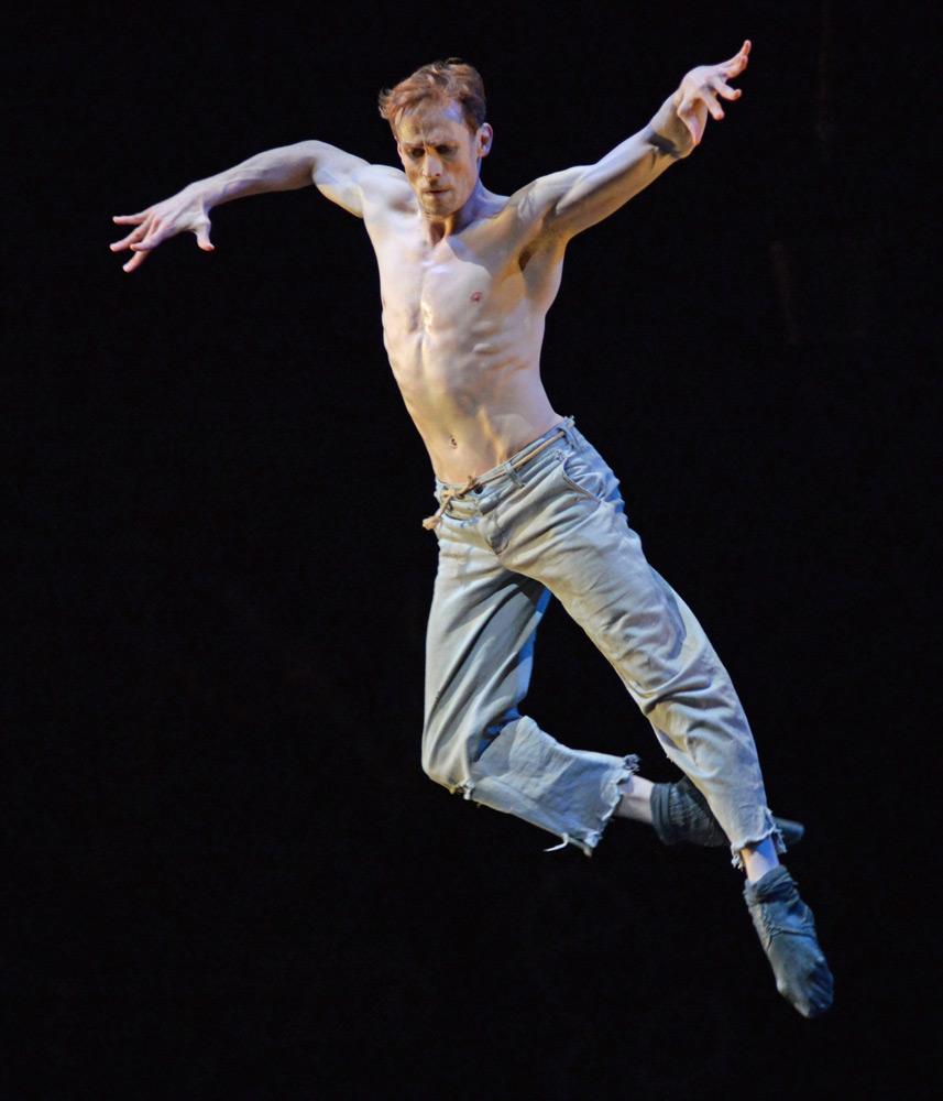 Edward Watson in The Judas Tree.© Dave Morgan, courtesy the Royal Opera House. (Click image for larger version)