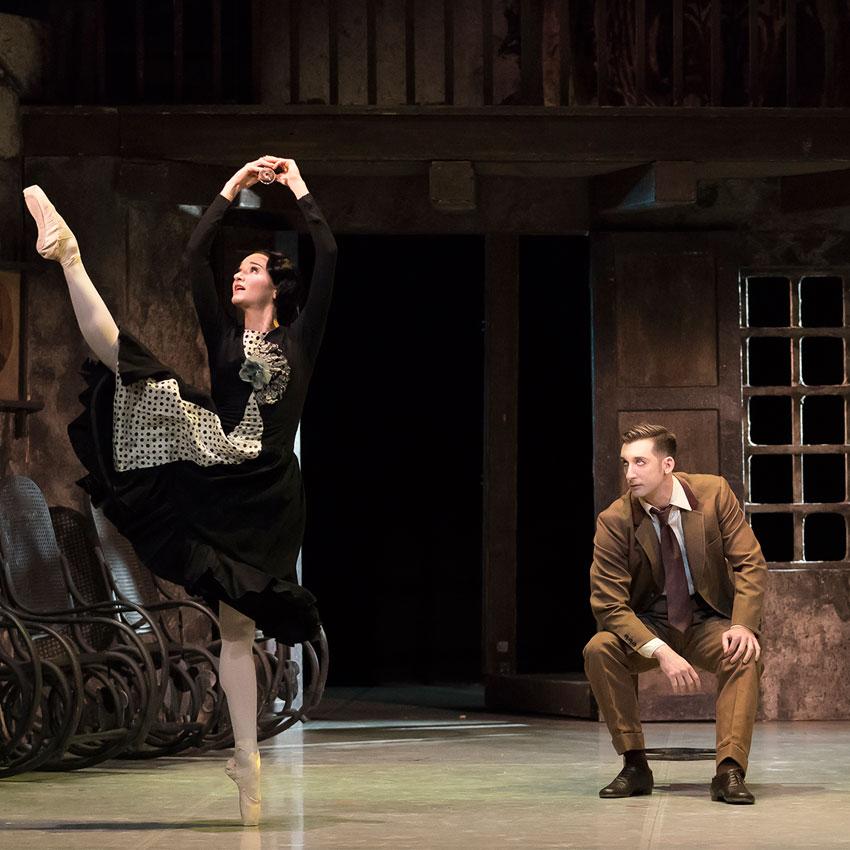 Northern Ballet in Kenneth MacMillan's <I>Las Hermanas</I>.<br />© Emma Kauldhar. (Click image for larger version)