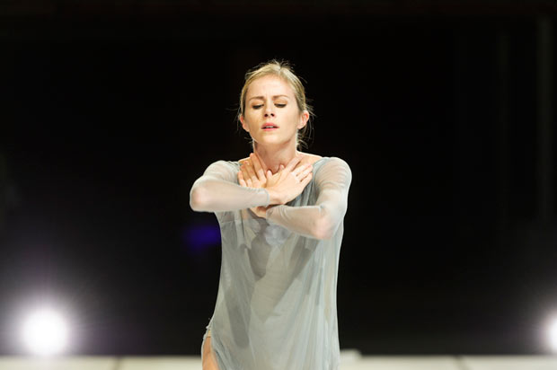 Heather Ogden in <I>The Dreamers Ever Leave You</I>.<br />© Foteini Christofilopoulou, courtesy the Royal Opera House. (Click image for larger version)