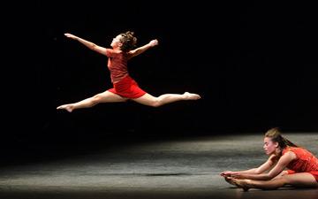 Elsa Monguillot de Mirman and Jacqueline Bâby in Maguy Marin's Trois Grandes Fugues.© Foteini Christofilopoulou. (Click image for larger version)