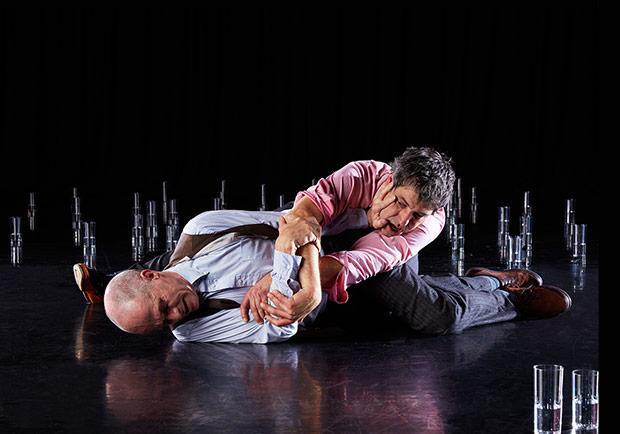 Nicholas Minns and Mark Boldin in <I>They Live Next Door</I>.<br />© Judita Kuniskyte. (Click image for larger version)