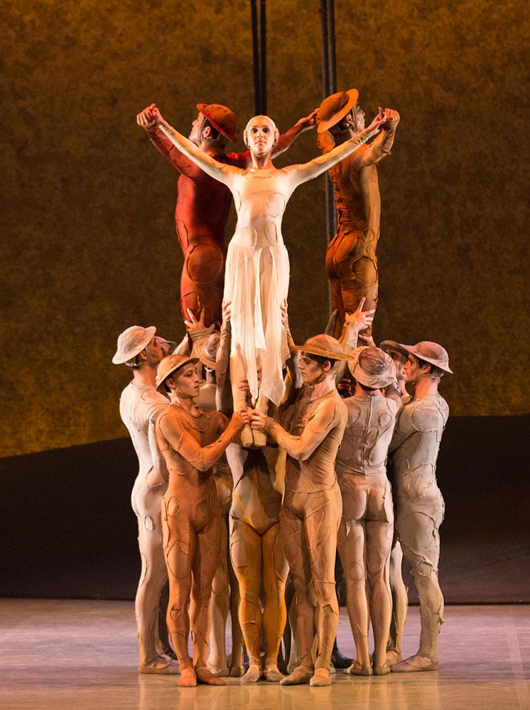 Northern Ballet in Kenneth MacMillan's Gloria.© Lauren Godfrey. (Click image for larger version)