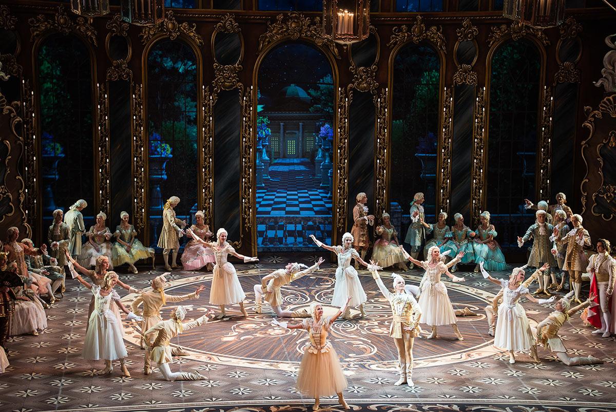 Mikhailovsky Ballet in <I>Cinderella</I>.<br />© Nikolay Krusser. (Click image for larger version)