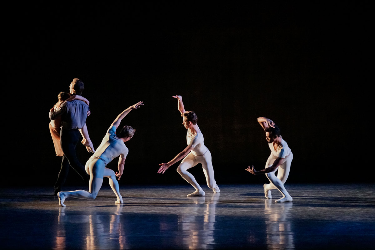 New York City Ballet in In Memory Of....© Paul Kolnik. (Click image for larger version)