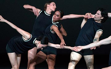 American Ballet Theatre in I Feel The Earth Move.© Rosalie O'Connor. (Click image for larger version)