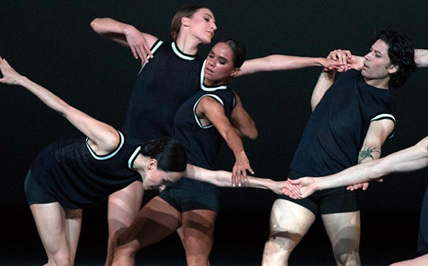 American Ballet Theatre in <I>I Feel The Earth Move</I>.<br />© Rosalie O'Connor. (Click image for larger version)