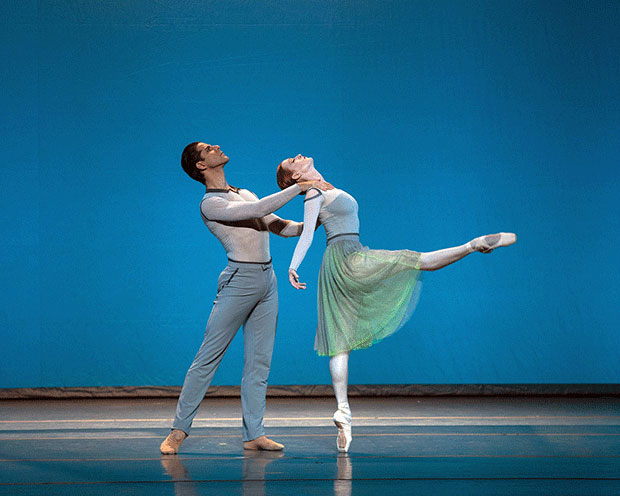 Gillian Murphy and Marcelo Gomes in <I>Her Notes</I>.<br />© Rosalie O'Connor. (Click image for larger version)