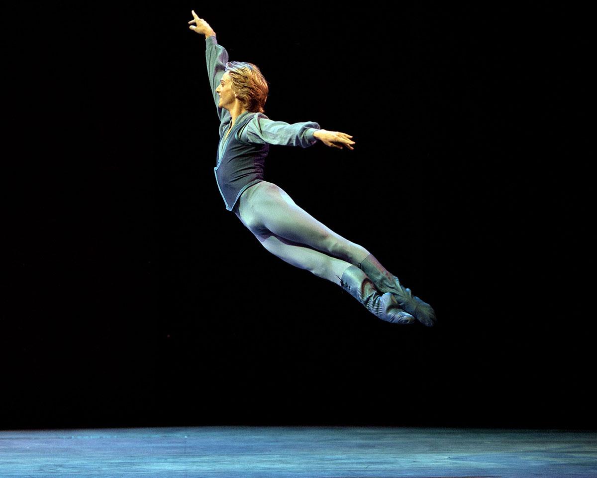David Hallberg in Other Dances.© Rosalie O'Connor. (Click image for larger version)