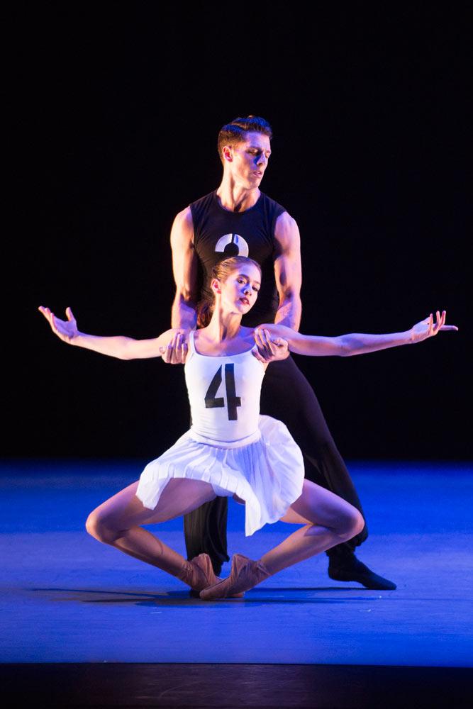 Brittany Stone and Corey Landolt in Bolero.© Theo Kossenas Media 4 Artists. (Click image for larger version)