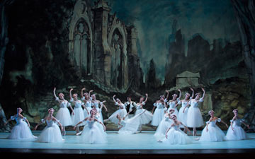 Washington Ballet in Les Sylphides.© Theo Kossenas Media 4 Artists. (Click image for larger version)