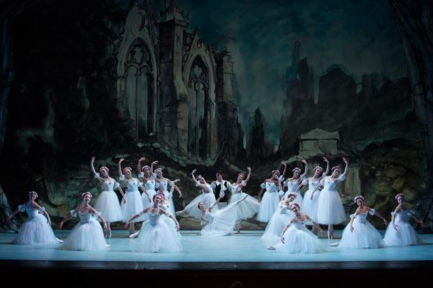 Washington Ballet in Les Sylphides.© Theo Kossenas Media 4 Artists. (Click image for larger version)