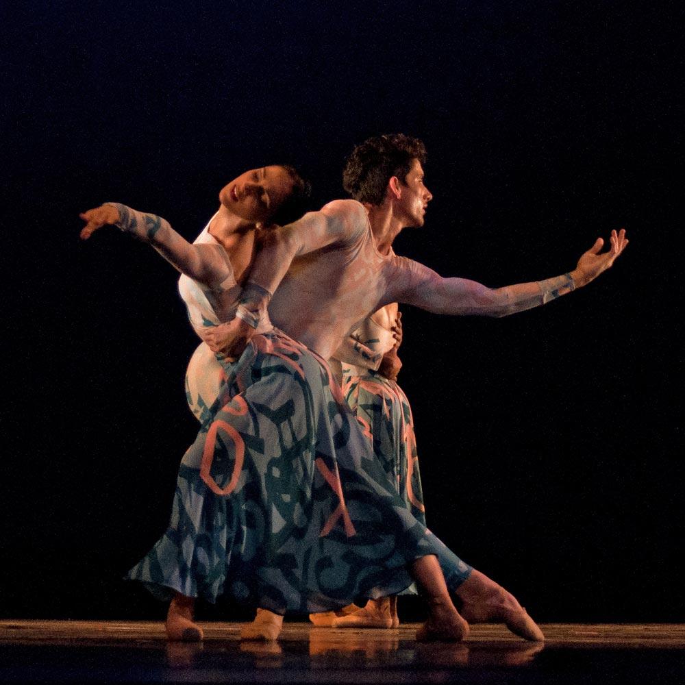 Acosta Danza in Justin Peck's Belles-Lettres.© Yuris Norido. (Click image for larger version)