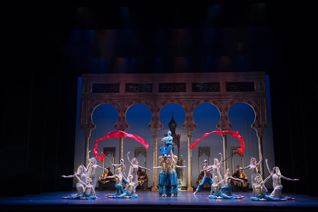Birmingham Royal Ballet in Aladdin.© Bill Cooper. (Click image for larger version)