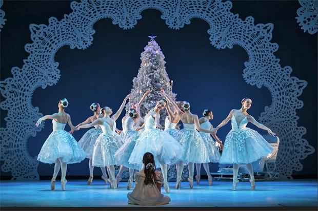 Scottish Ballet in <I>The Nutcracker</I>.<br />© Andy Ross. (Click image for larger version)