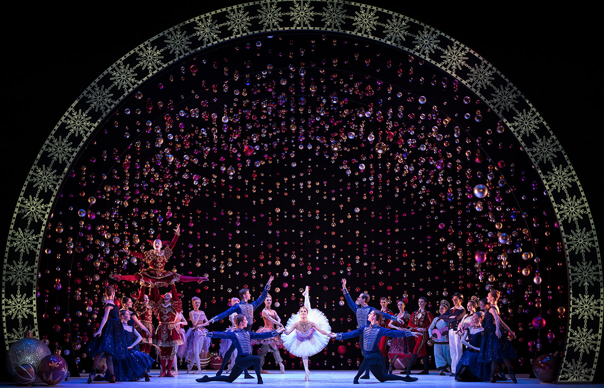 Scottish Ballet in The Nutcracker.© Andy Ross. (Click image for larger version)