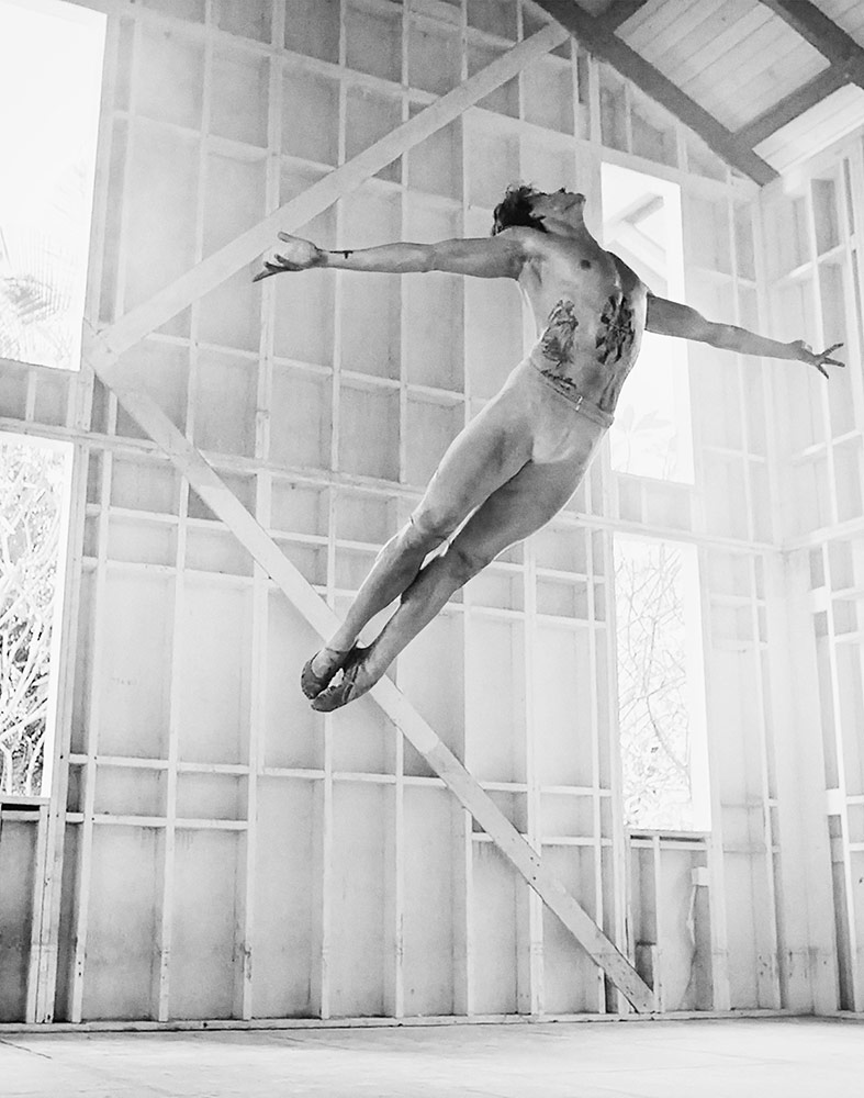 Sergei Polunin in Take Me to Church.© David LaChapelle. (Click image for larger version)