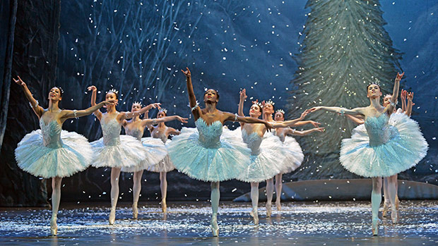 English National Ballet in <I>Nutcracker</I>.<br />© Dave Morgan. (Click image for larger version)