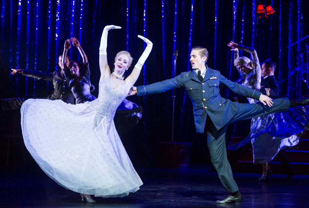 Ashley Shaw and Andrew Monaghan in Matthew Bourne's Cinderella.© Foteini Christofilopoulou. (Click image for larger version)