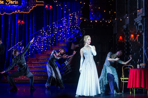 Ashley Shaw in Matthew Bourne's <I>Cinderella</I>.<br />© Foteini Christofilopoulou. (Click image for larger version)