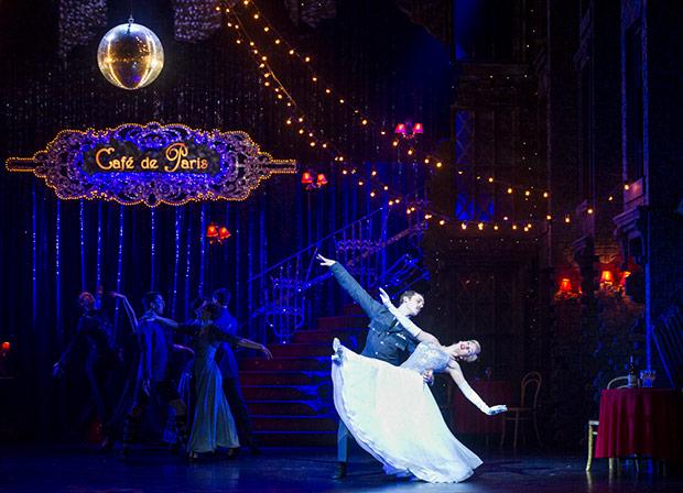 Cordelia Braithwaite and Will Bozier in Matthew Bourne's <I>Cinderella</I>.<br />© Foteini Christofilopoulou. (Click image for larger version)
