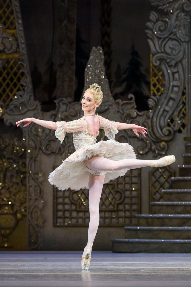 Sarah Lamb in The Nutcracker.© Foteini Christofilopoulou, courtesy the Royal Opera House. (Click image for larger version)