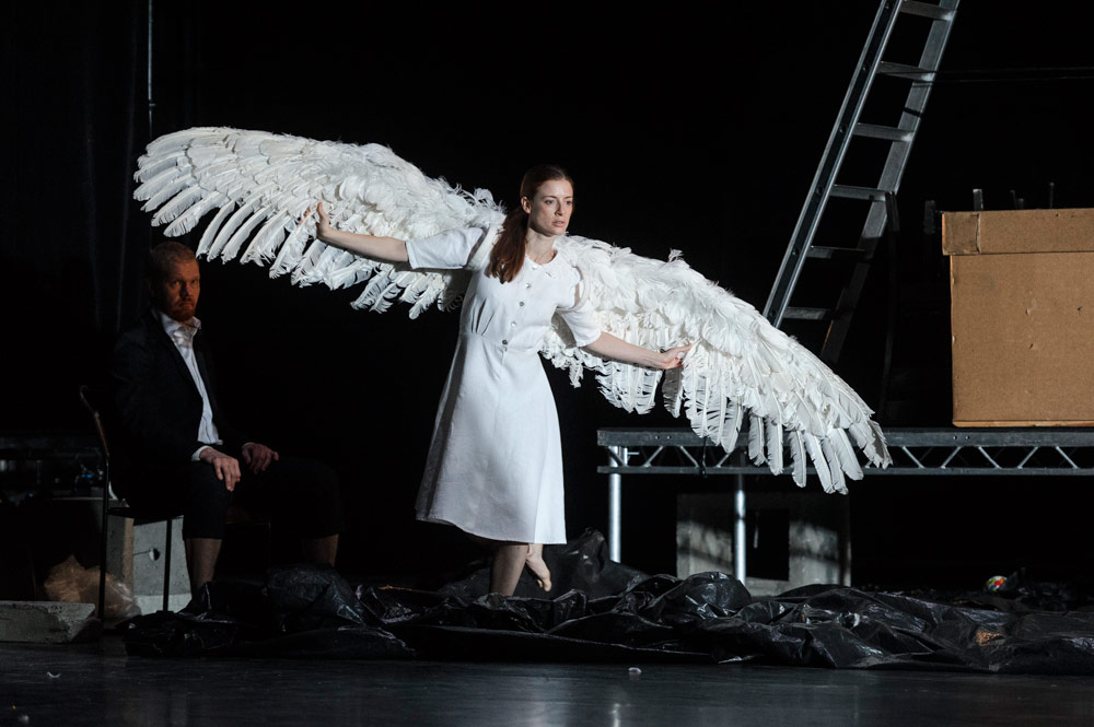 Carys Staton in Swan Lake/Loch na hEala.© Foteini Christofilopoulou. (Click image for larger version)