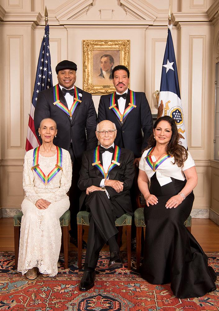 The 2017 Kennedy Center Honors recipients incl Carmen de Lavallade. © John P. Filo/CBS. (Click image for larger version)