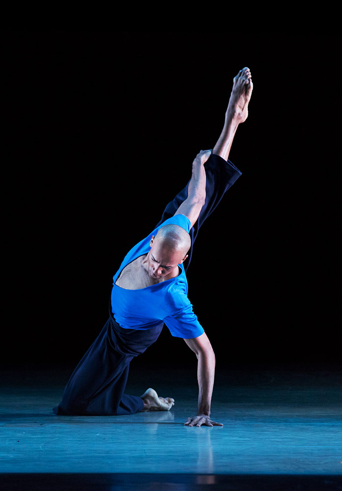 Yannick Lebrun in Jamar Roberts' Members Don't Get Weary.© Paul Kolnik. (Click image for larger version)