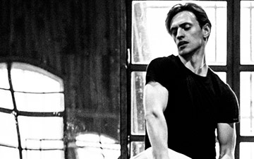 Sergei Polunin and Natalia Osipova in rehearsals for Satori.© Srđan Srđenović. (Click image for larger version)