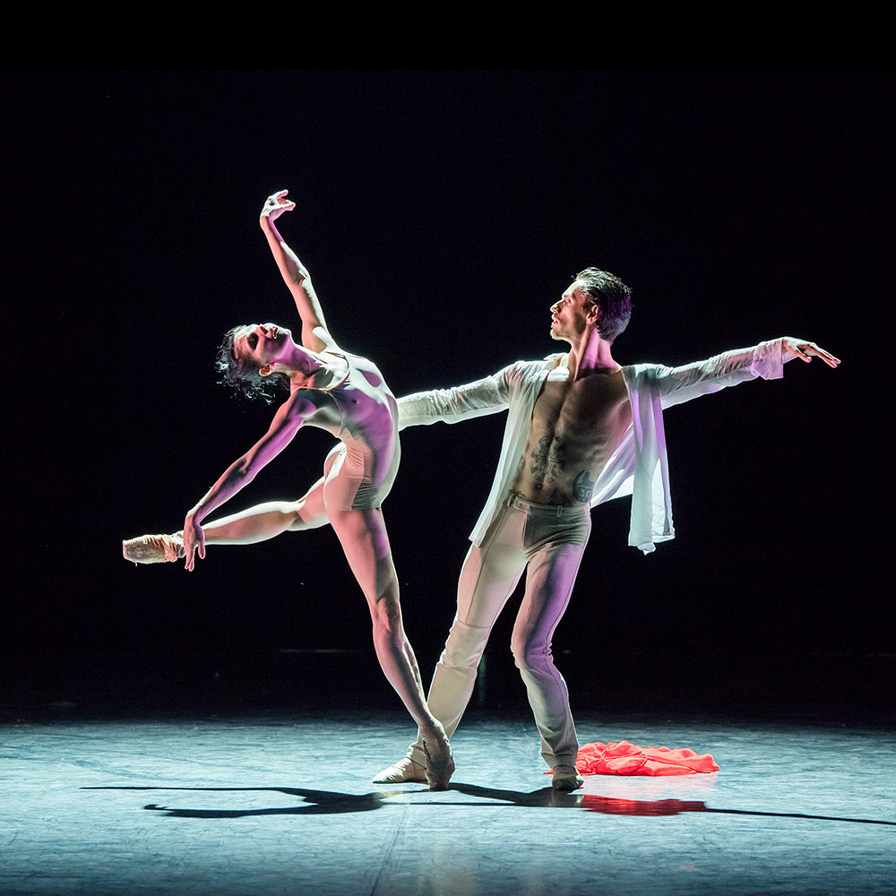 Natalia Osipova and Sergei Polunin in Satori.© Tristram Kenton. (Click image for larger version)