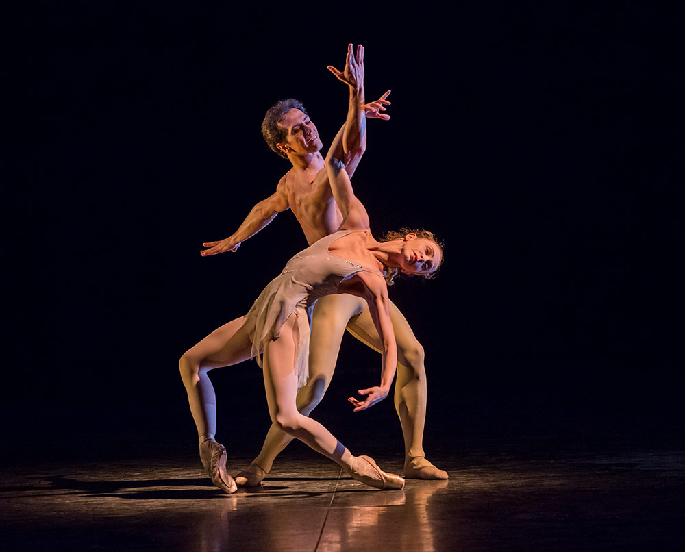 Alexandre Ryabko and Silvia Azzoni in Scriabiniana.© Tristram Kenton. (Click image for larger version)