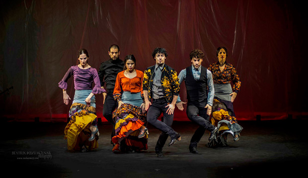 Ballet Flamenco Jesús Carmona.<br />© Beatrix Mexi Molnar. (Click image for larger version)