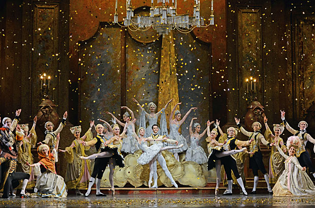 Birmingham Royal Ballet in <i>The Sleeping Beauty</i>.<br />© Dave Morgan. (Click image for larger version)