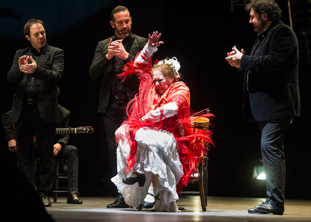 La Chana at Flamenco Festival London 2018.© Foteini Christofilopoulou. (Click image for larger version)