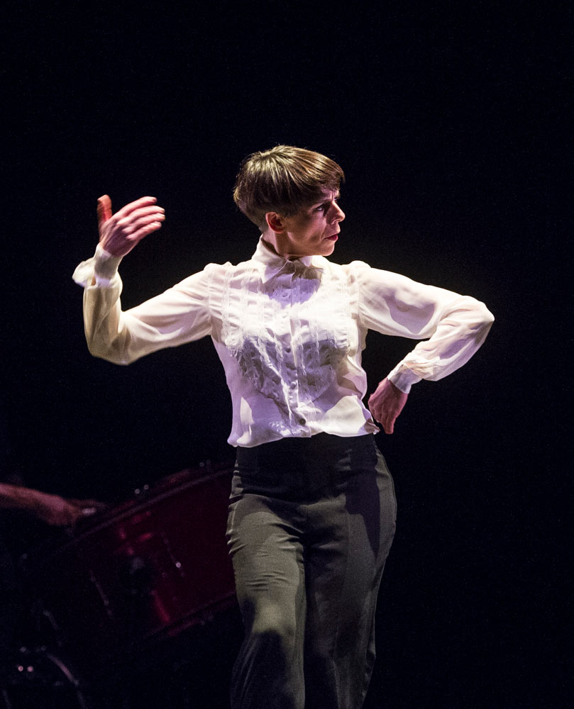 Leonor Leal in Painter and Flamenco: J.R.T..© Foteini Christofilopoulou. (Click image for larger version)